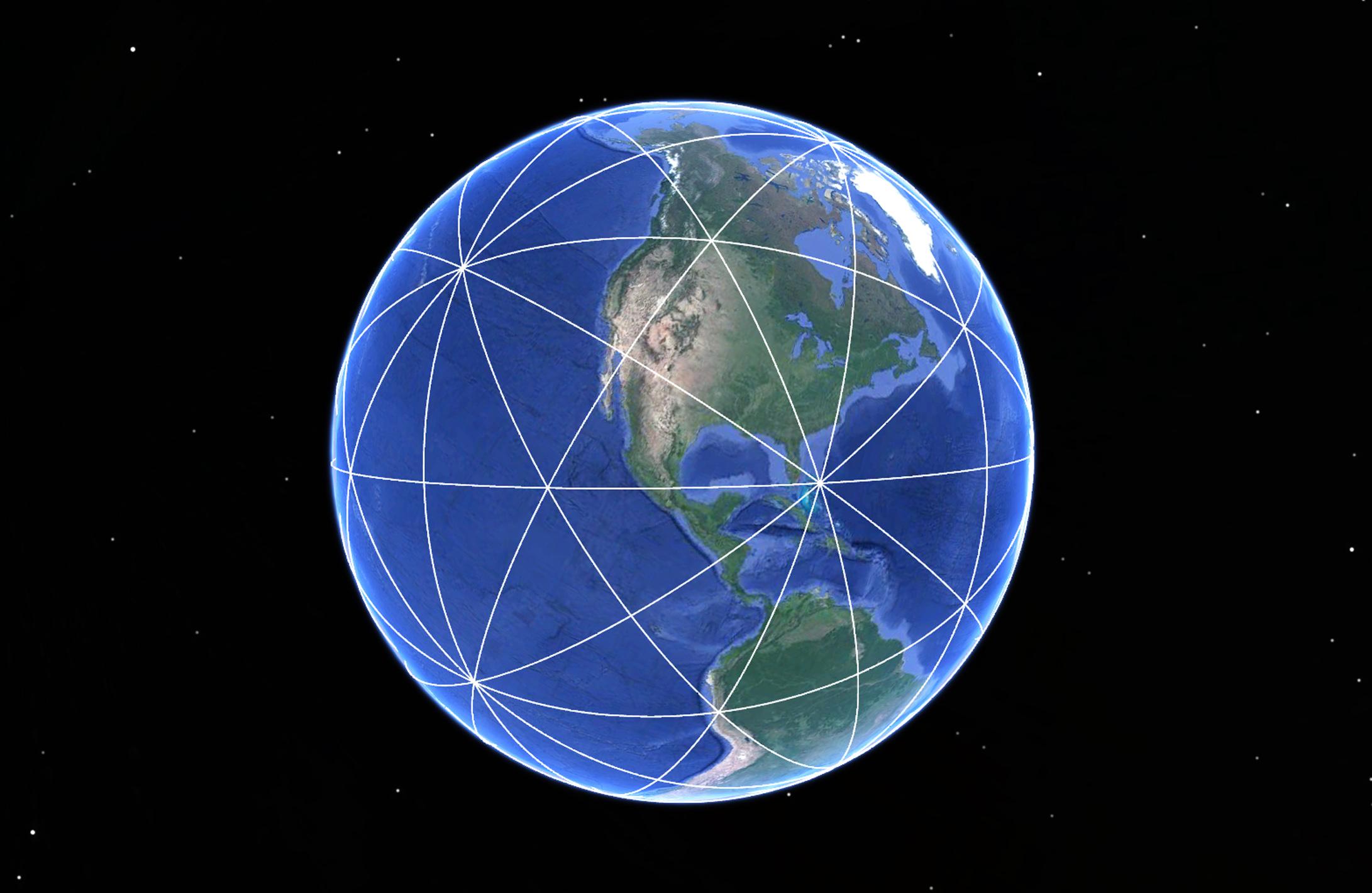 Planetary Grid 15 Great Hoops